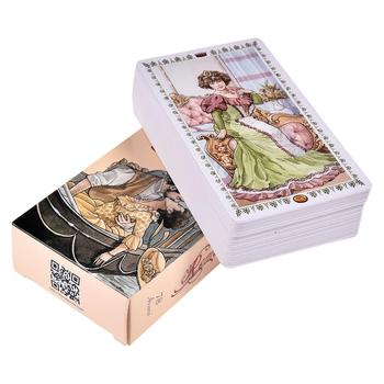 78pcs Romantic Tarot Cards English Oracle Guidance Divination Fate Party Playing Card Board Games Deck Table Game Entertainment
