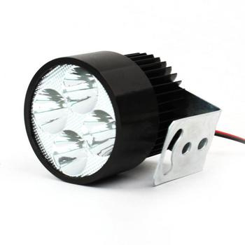 1Pcs DC12V-85V 20W LED Spot Light Head Lamp Mount for Bike Car Motorcycle Black Motorcycle Headlights accessories image