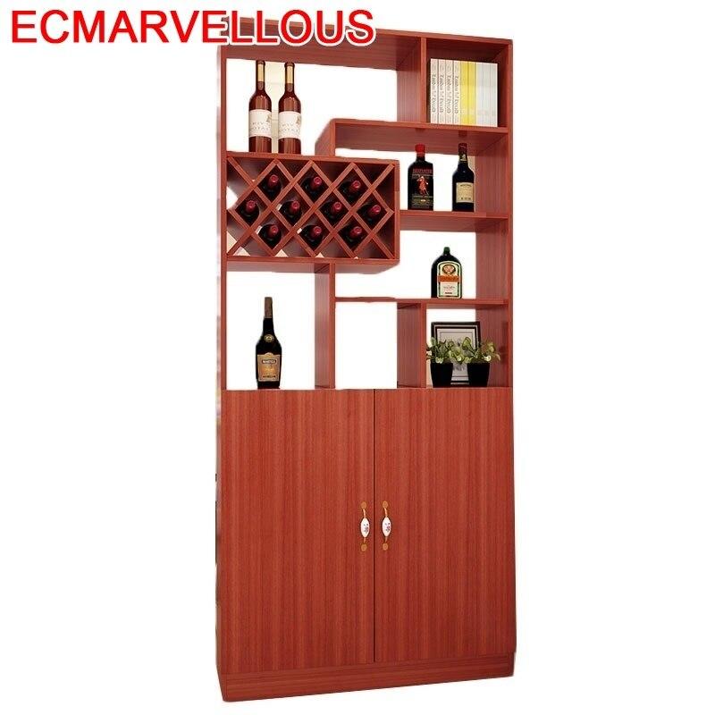 Vinho Rack Storage Hotel Shelves Vetrinetta Da Esposizione Dolabi Gabinete Mueble Bar Shelf Commercial Furniture Wine Cabinet