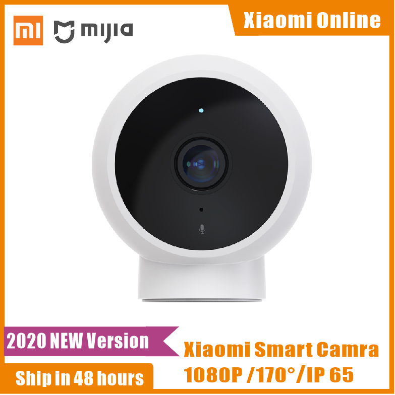 Terbaru Xiaomi Mijia Smart Camera 170 Wide Angle Kamera 1080P HD IP65 Tahan Air Infrared Malam Visi Bekerja Sama Wit