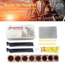 Nuevas herramientas de Reparación de bicicletas para bicicleta de montaña, reparación de neumáticos planos para ciclismo, Parche de goma, pegamento, juegos de palanca, Kit de reparación de neumáticos de emergencia