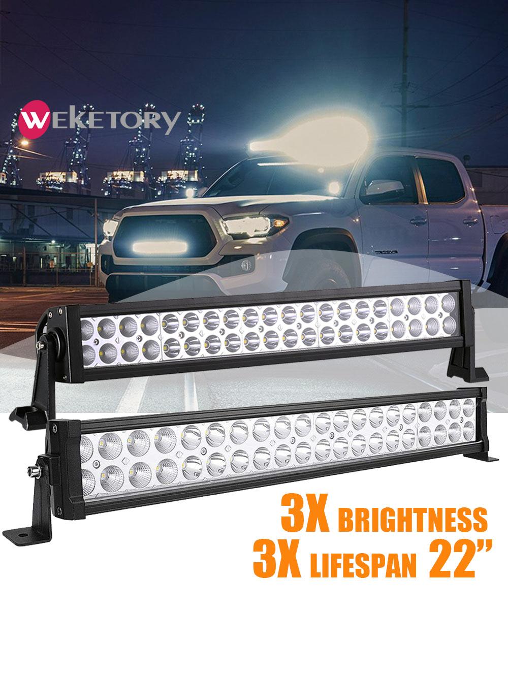 Светодиодный рабочий светильник, 22 дюйма, светодиодный светильник 120 Вт для работы, вождения, лодки, автомобиля, грузовика, 4x4, внедорожника, ...