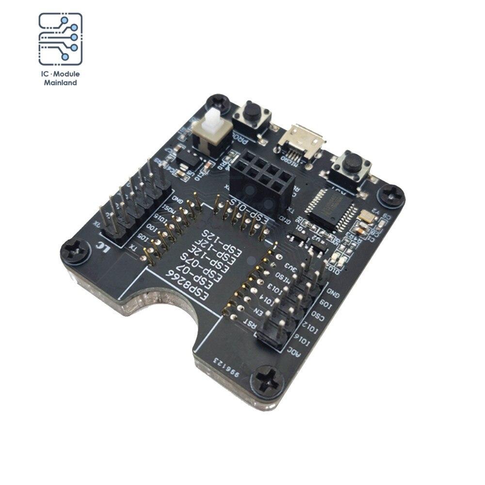 Esp8266 teste quadro queimador placa de desenvolvimento módulo wifi um clique download suporte para ESP-12F ESP-07S ESP-12E ESP-01S esp12s