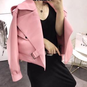 Image 3 - Kurtka z prawdziwej skóry kobiet plus rozmiar kurtka z owczej skóry 2020 atutmn zimowe płaszcze i kurtki damskie casual kobieta płaszcz