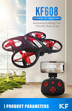 Kf608 Beginner Resistance To Falling Security 720p Hd Camera Rc Quadcopter Helicopter Camera Drones Toy Kid #ss(China)