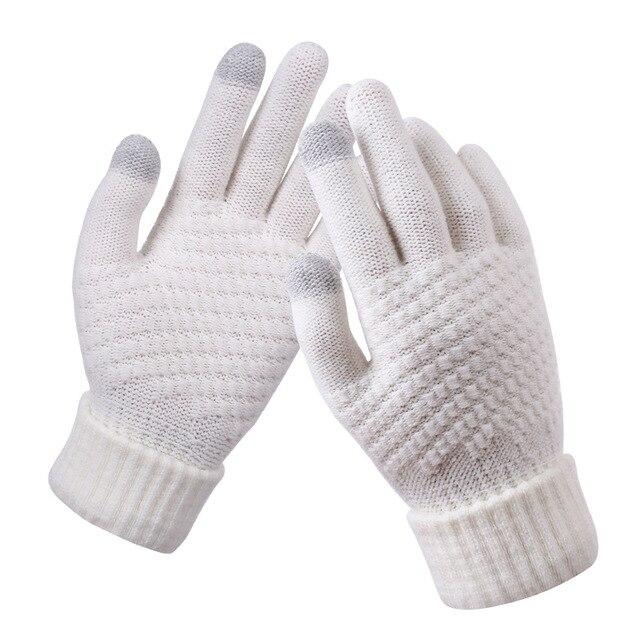 Bright Orange Gloves for Men and Women 1
