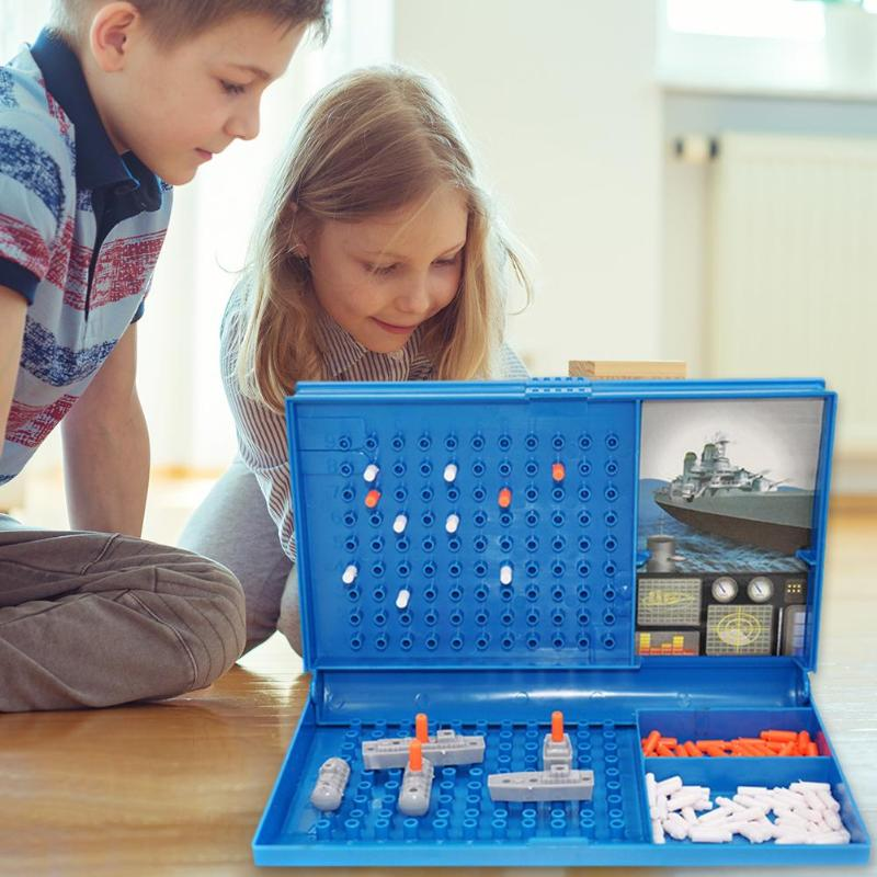 Sea Battle Ships Strategy Board Game Toys Assistant Growth Cognition Family Parent Child Interactive Party Decompression Toys