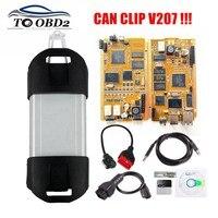 Herramienta de diagnóstico automático para coche Renault, accesorio con chip completo, Chip AN2131QC, compatible con varios idiomas, Clip V207