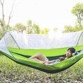 Гамак Открытый Москитная сетка анти-боковой рулон диких качели шейкер для взрослых дерево кровать sleepnet двойной