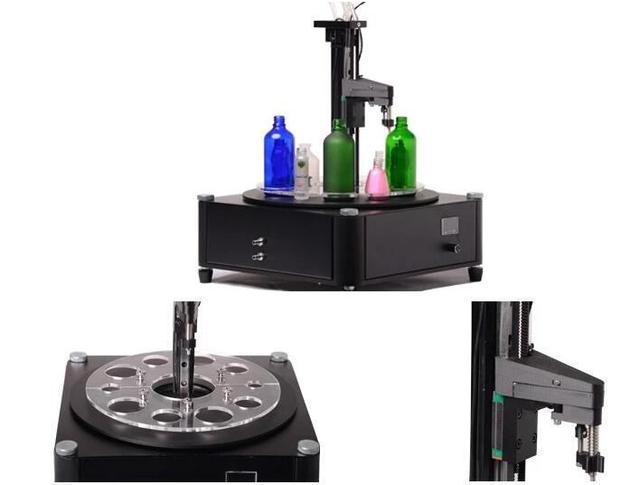 Haute précision semi-automatique petite machine de remplissage de parfum portable de haute qualité