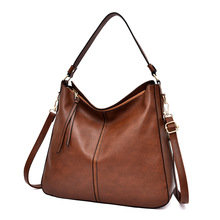 SDN new European and American fashion shoulder bag, wild PU solid color classic messenger bag, large capacity female handbags new serpentine hit color wild leather handbags european and american fashion trapezoidal buckle shoulder diagonal bag leather ha