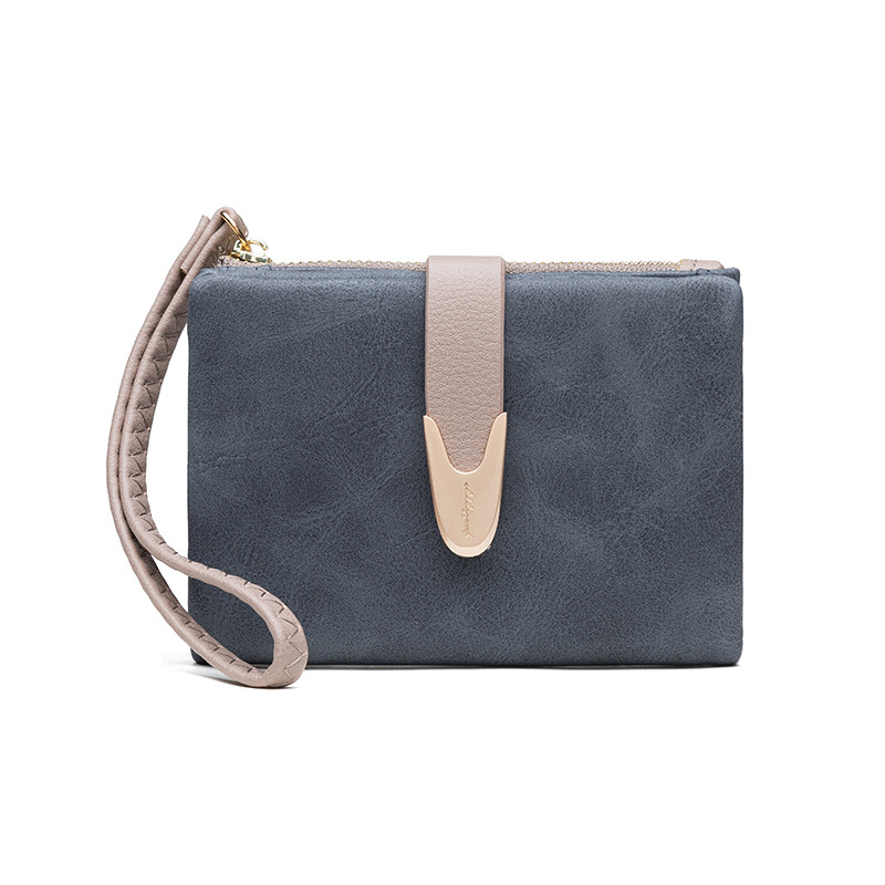 Fashion Small Wallet Women Soft Leather Ladies Purse Wristand Female Wallet Coin Purse Brand Cartera Mujer Girl Card Holders
