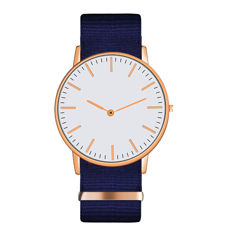 2019 Luxury High Quality Design Golden Monochrome Strap Watch For Woman
