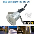 1pcs 3w LED Deck Light Boat Courtesy Lamp Stainless Steel Outdoor Lighting Garden Terrace roof overhang Sand Yard Waterproof