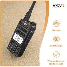 KSUN X-UV2D VHF UHF Dual Band Walkie-talkie 8W Two Way Radio Transceiver Walkie Talkie