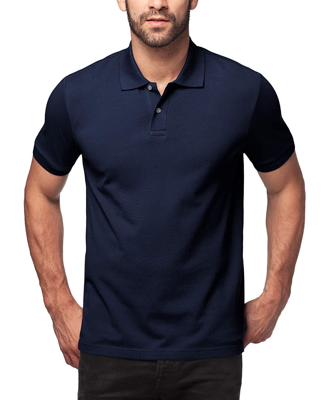 Shirt For Men, 100Cotton, Knitted Fabric (no Jersey). Longer Back-Hem, Short Sleeve