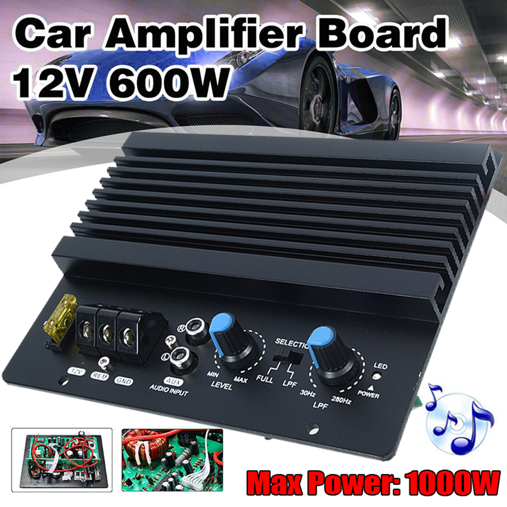 1000W Mono Car Audio High Power Amplifier Amp Board Powerful Bass Subwoofer 12V Brand New And High Quality|Stereo Amplifiers| - AliExpress