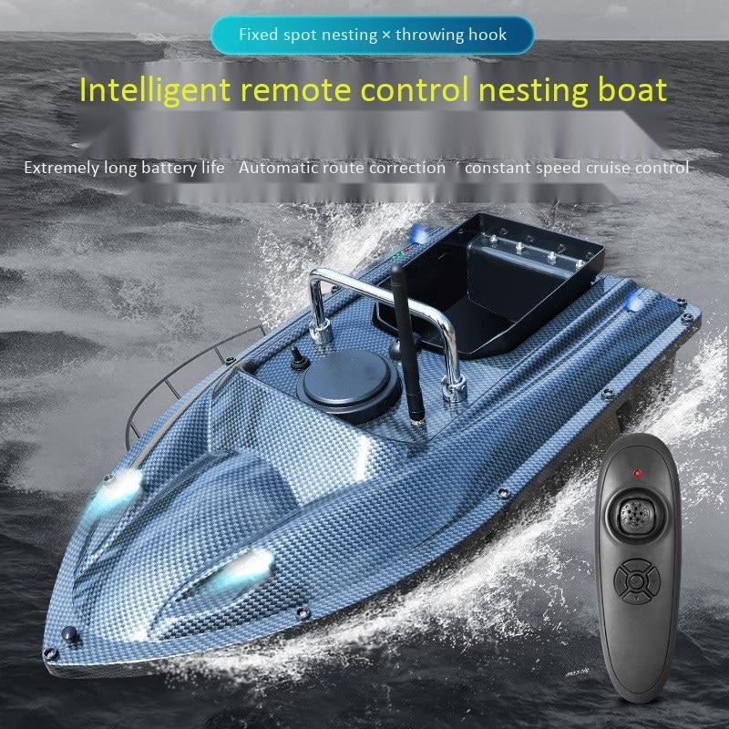 Рыболовная приманка, лодка с дистанционным управлением 500 м, рыболовная игрушка Кормушка, рыболовная приманка, лодка с вилкой европейского
