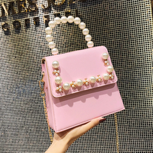 Women Bag Handbag Chain Crossbody-Bags Cute Tote High-Quality PU Designer Sweet Portable