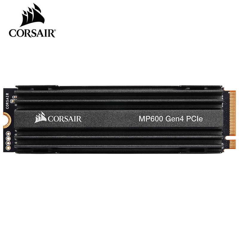 CORSAIR Force Series MP600 SSD NVMe PCIe Gen 4.0 X4 M.2 SSD 1TB 2TB Solid State Drive Storage 4950MB/s M.2 2280 SSD