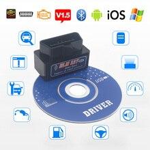 Elm327 V1.5 Bluetooth OBD2 II Scanner Diagnostic Tools For Lexus Infiniti Chevrolet Cruze Malibu Aveo Trax Spark Orlando Sonic