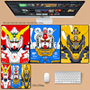 Cute Gundam Mause Pad Gamer Desk Gaming Laptop Anime Mouse Pad Xxl For PC Gamer Cabinet Varmilo Gamers Accessories Mausepad Rug