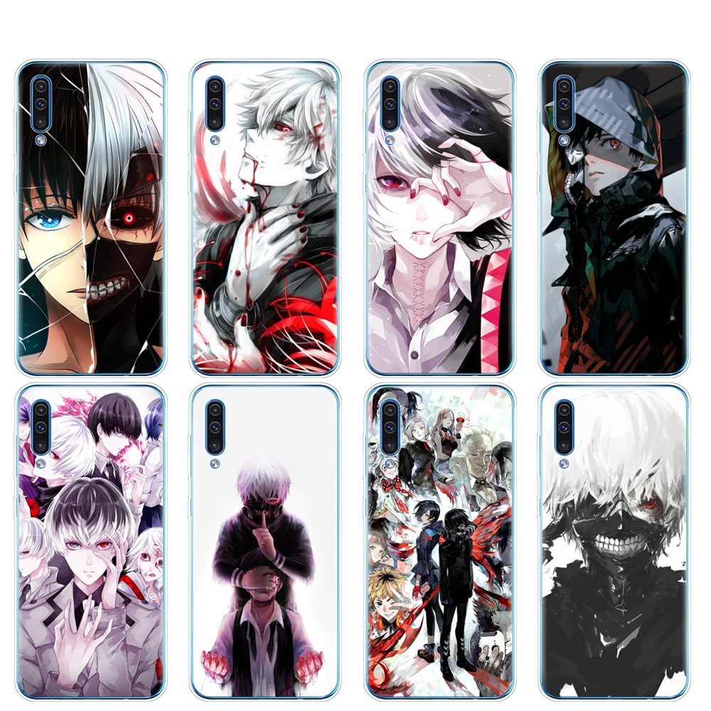 silicon phone cover case for Samsung Galaxy S10 E PLUS A10 A20 A30 A40 A50 A70 A10E A20E M20 cover coque Tokyo Ghoul anime image