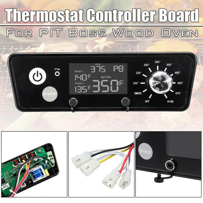 LCD Display Upgrade 120V Digital Thermostat Controller Board Direct Igniter Kitchen Cooking Meat BBQ Barbecue Stove Tools