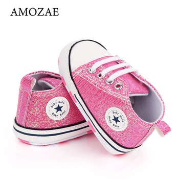 2020 New Arrival Baby Boys Girls Shoes Canvas Print First Walker Infant Toddler Anti-Slip Prewalker Indoor Shoe For Dropshipping - discount item  22% OFF Baby Shoes