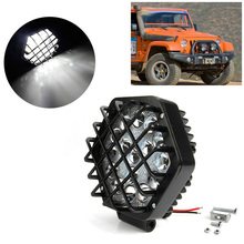 $ 16.5 Brand New And High Quality 160W LED Work Light Bar Car Truck Boat Driving Fog Lamp Off-road 4WD 5D Lens