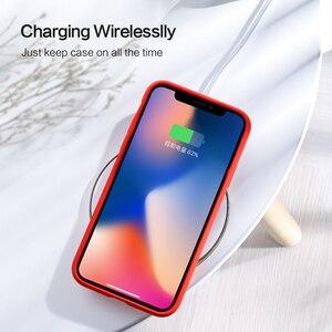 Image 5 - SmartDevil מוצק צבע סיליקון טלפון מקרה עבור Iphone 11 פרו מקסימום 7 8 בתוספת XR X XS מקס זוגות חמוד צבעים בוהקים רך פשוט מקרי