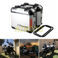 For BMW R1200GS F800GS Adventure F800R 36L Motorcycle Side Cases Kit Luggage Cargo Bags Saddlebags Large Side Boxes Universal