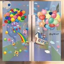 Красочные воздушные шары наклейки на стену diy Мультяшные фотообои