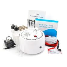 3 в 1 Алмазная микродермабразия дермабразия пилинг красоты машина брызга воды для удаления морщин средства пилинг