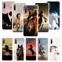 Custodia per telefono animale cavallo per Xiaomi Redmi Note 10 9 8 Pro 9S 8 8T 7 6 5 6A 7A 8A 9A 9C 4X S2 K20 K30 Art Cover Coque