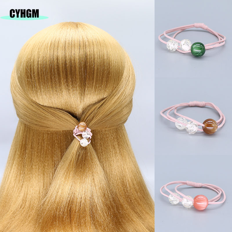 Hair Ties Elastic Hair Bands Elastique Velvet Scrunchie Frida Kalho Girls Women Hair Accessoires Meche Cheveux A Tresser F03-4