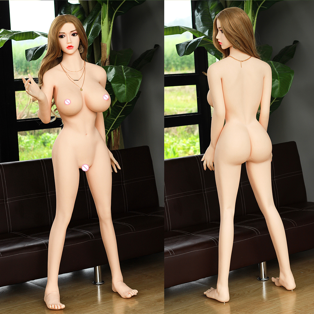 Real Silicone <font><b>Sex</b></font> <font><b>Dolls</b></font> <font><b>158cm</b></font> Skeleton Adult Love <font><b>Doll</b></font> Oral Vagina Lifelike Full Pussy Japanese Sexy Big Breast for Man image