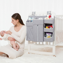 Переносная сумка-Органайзер для детской кроватки, сумка для хранения пеленок, набор постельного белья