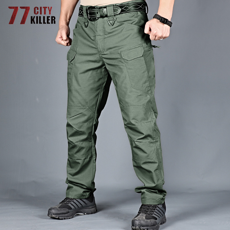 77City Killer Military City Tactical Pants Men 5XL 6XL Combat Waterproof Cargo Mens Pants Breathable SWAT Camouflage Trousers 3