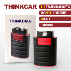Thinkcar ThinkDiag OBD2 Actuation Test All System Diagnostic Tool 15 Reset Service ECU Coding Car Code Reader Scanner