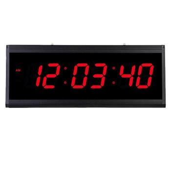 Digital Wall Clock Large Display Plug-in Clock for Living Room/ Office/ Sitting Room/Hotel Lobby/Church/Classroom/Hall
