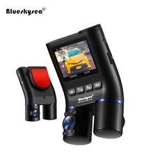 Blueskysea B2W Car Dash Camera Dual Car DVR HD 1080P Mini Car WiFi DVRs GPS Dashcam Rear View Camera for Uber Lyft Taxi Bus цена 2017