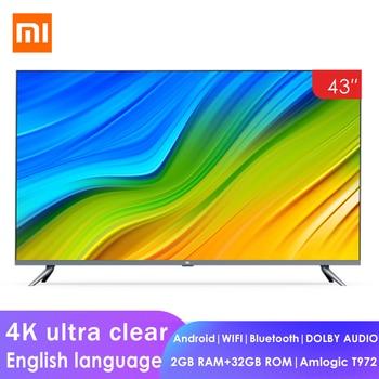 Smart TV Xiaomi  4k LCD - 43 Polegadas -Processador: Quad Core 2GB + 32GB Dolby Áudio - Sistema Android TV - Wifi 1