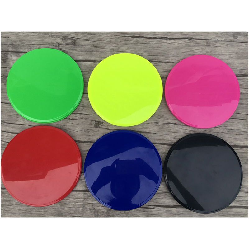 Newly 2 Pcs Core Gliding Discs Slider Fitness Disc Exercise Sliding Plate for Yoga Gym Abdominal Training BFE88