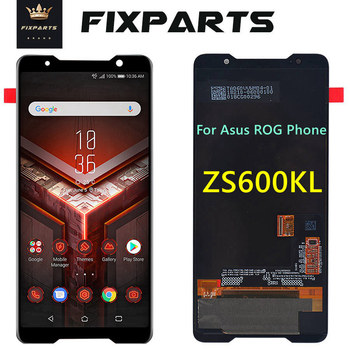 Original Amoled screen for Asus ROG phone Zs600kl z01QD LCD Display Touch Screen Digitizer Assembly Replacement Spare Parts
