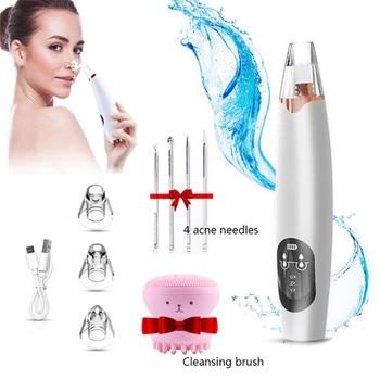 Blackhead Remover acuum Electric Nose Face Deep Cleansing Skin Care Machine Blackhead Remover Black Spots Pore Cleaner T Zone