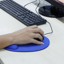 Anti Slip Gel Mouse Mat Pad With Rest Wrist Comfort Support Laptop PC(China)