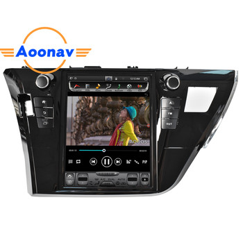 AOONAV Car video radio multimedia player FOR-Toyota Corolla 2014 2015 2016 car autoradio stereo GPS navigation HD touch screen image