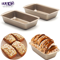 1Pcs Non stick 5 Zoll Mini Rechteckige Loaf Pan  Heavy duty Carbon Stahl FDA Genehmigt  ofen Rösten Brot Backen Kuchen Pan auf