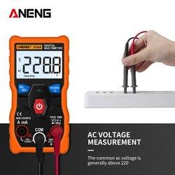 ANENG V04A pomiar cyfrowy multimetr tester motoryzacja elektryczne comprobador tester próbnik elektroniczny multitester multimetro